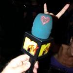 Az orosz MTV mikrofonja. :)