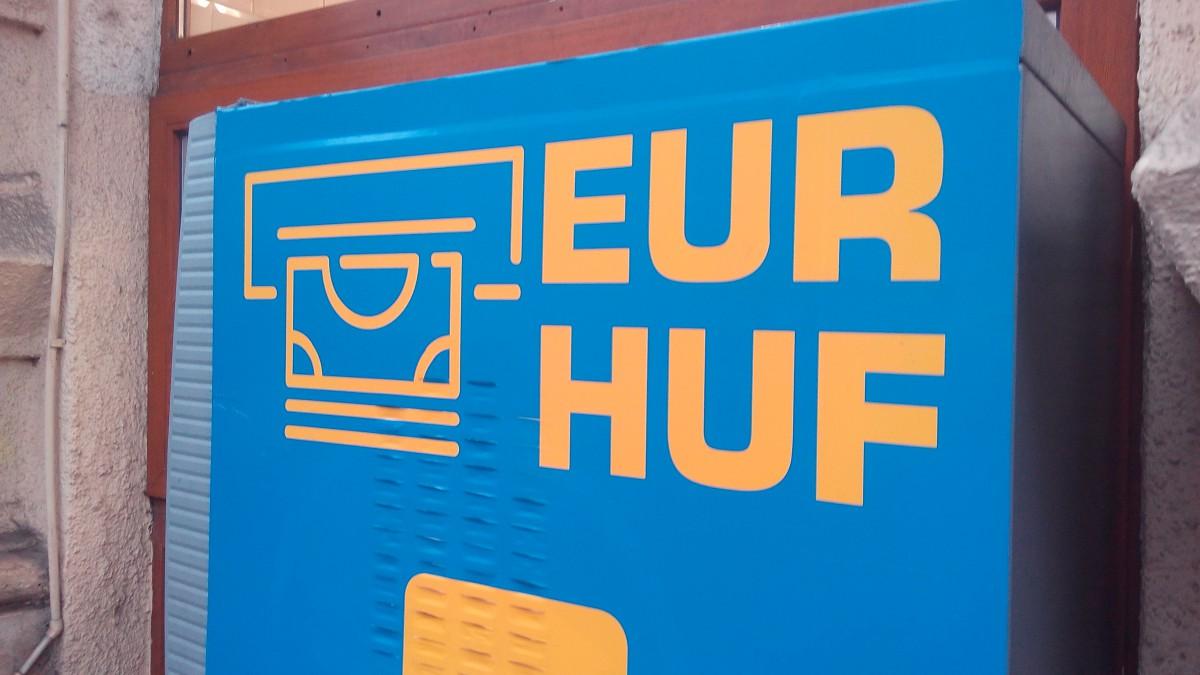 Euró kiadó automaták Budapesten – újra